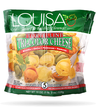 Louisa Tri-Color Cheese Tortellini