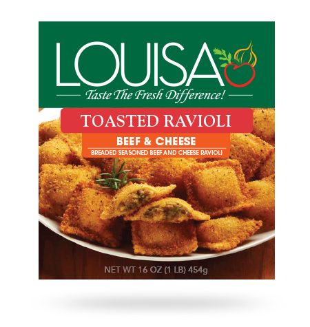 Toasted Beef & Cheese Ravioli