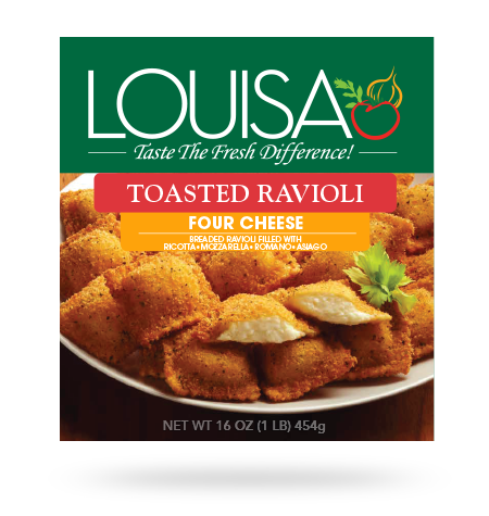 Toasted Four Cheese Ravioli